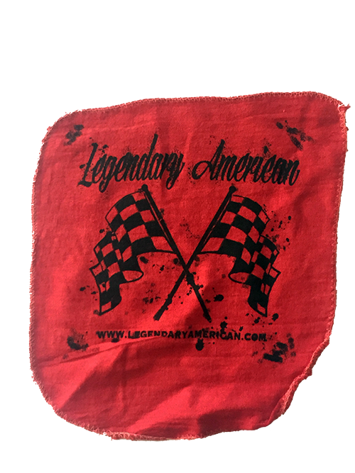 Image of Legendary American Checkered Flag Shop Towel