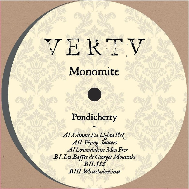Image of Monomite - Pondicherry EP [VRTV002]