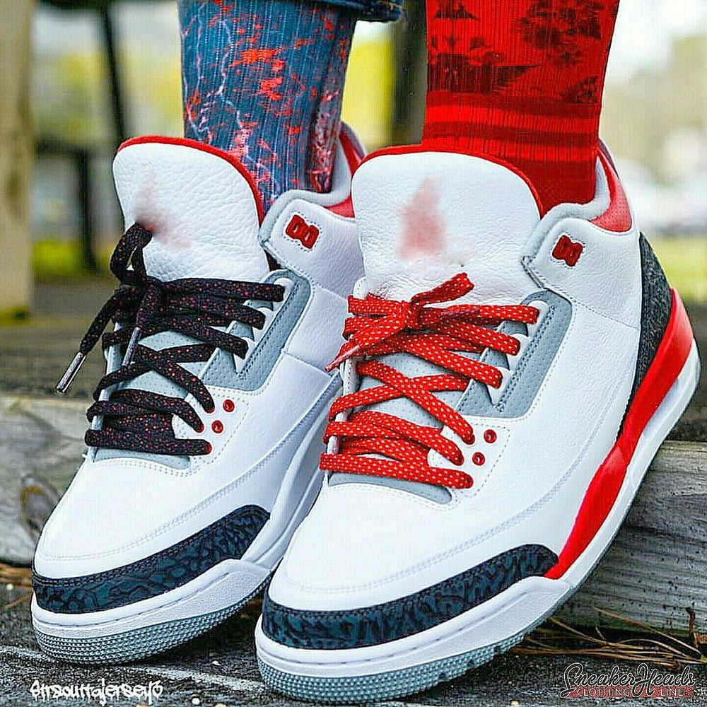 "Image of Exclusive ""3M (Red)"" LE Custom Laces"