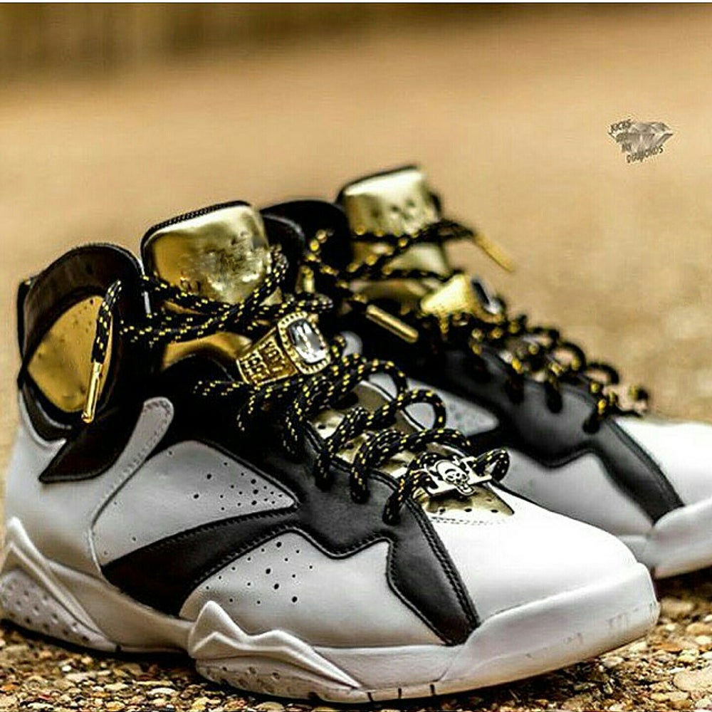 "Image of Exclusive ""Metallic Gold"" Custom Rope Shoe Laces (6 Colorways)"