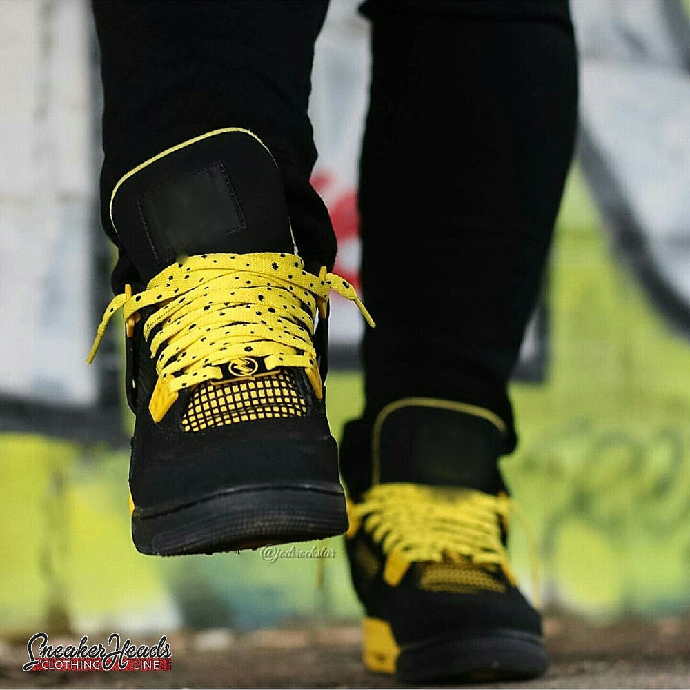 "Image of Exclusive ""THUNDER/LIGHTNING"" LE Custom Shoelaces"