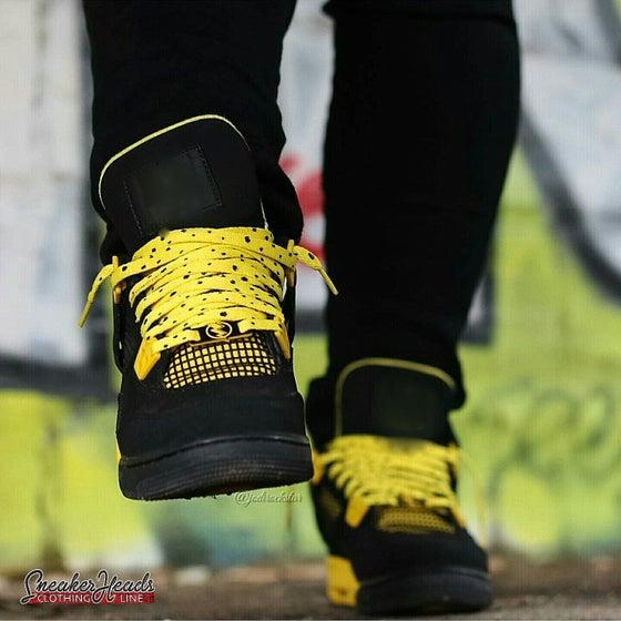 """Image of Exclusive """"THUNDER/LIGHTNING"""" LE Custom Shoelaces"""