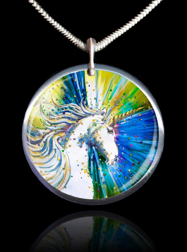 Image of Unicorn Magic Energy Pendant