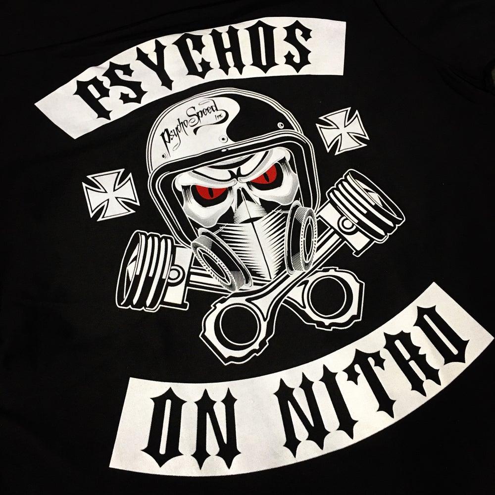 Image of Psychos on Nitro Work Shirt