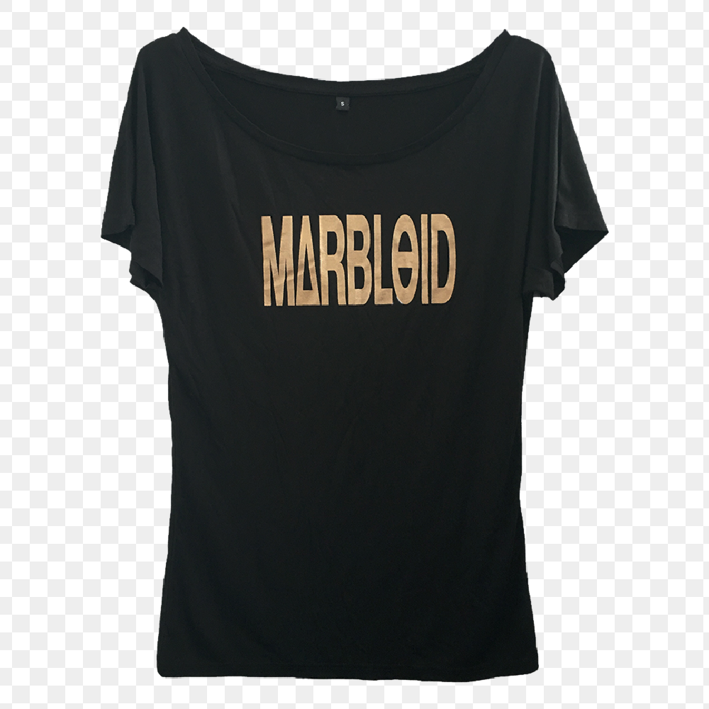 Image of Marbloid – Girl Logo T-shirt
