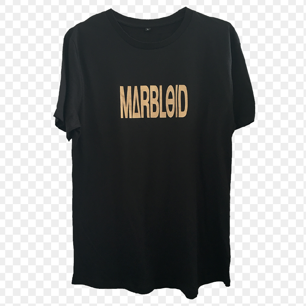 Image of Marbloid – Long Logo T-shirt