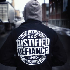 """Image of JUSTIFIED DEFIANCE - s/t 7"""""""