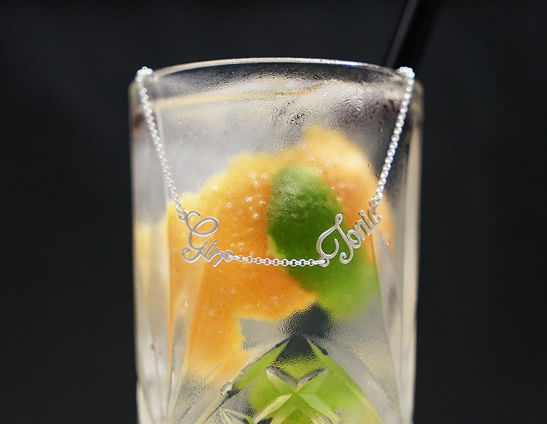 Image of Gin and Tonic Necklace