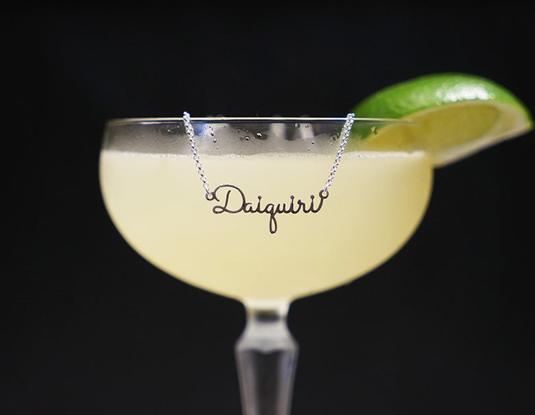 Image of Daiquiri Cocktail Necklace