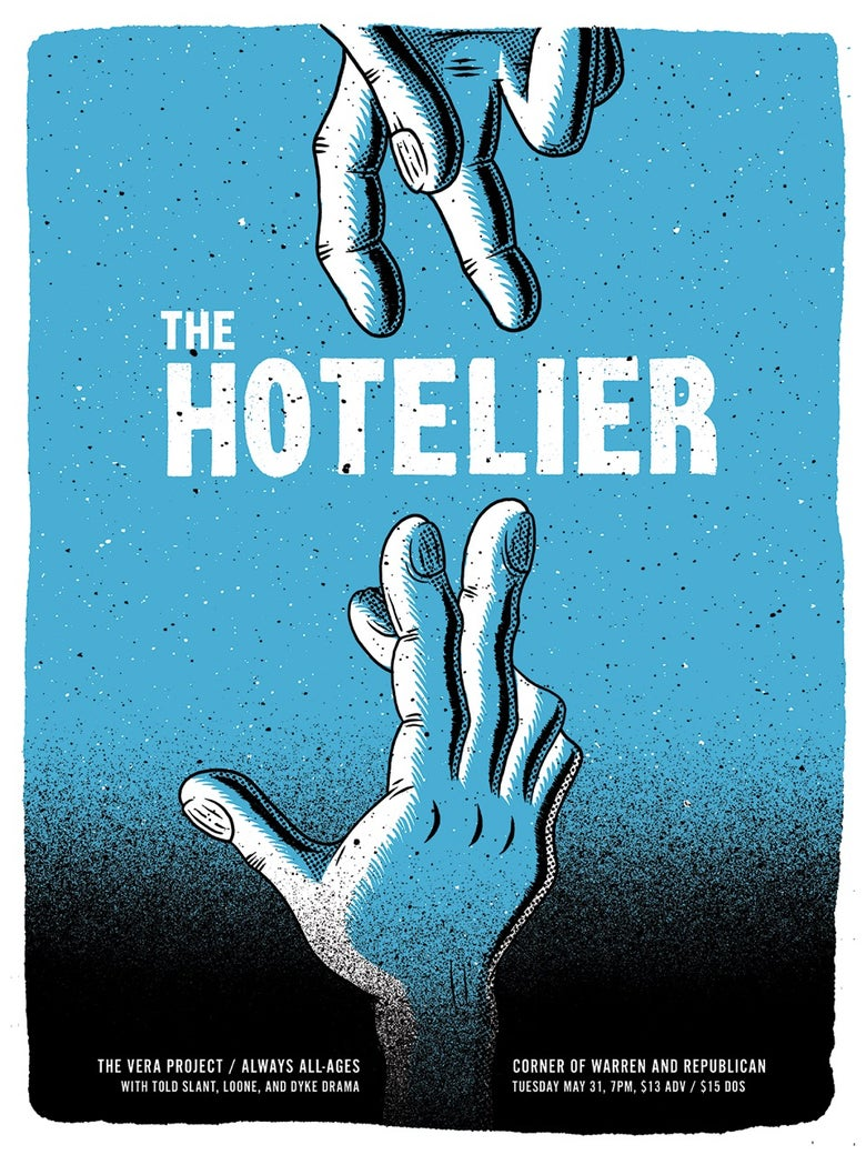 Image of Hotelier Poster