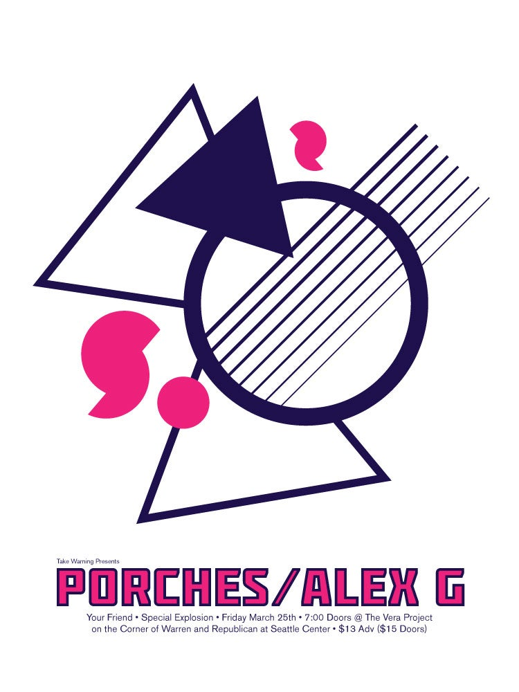 Image of Porches/ Alex G Poster