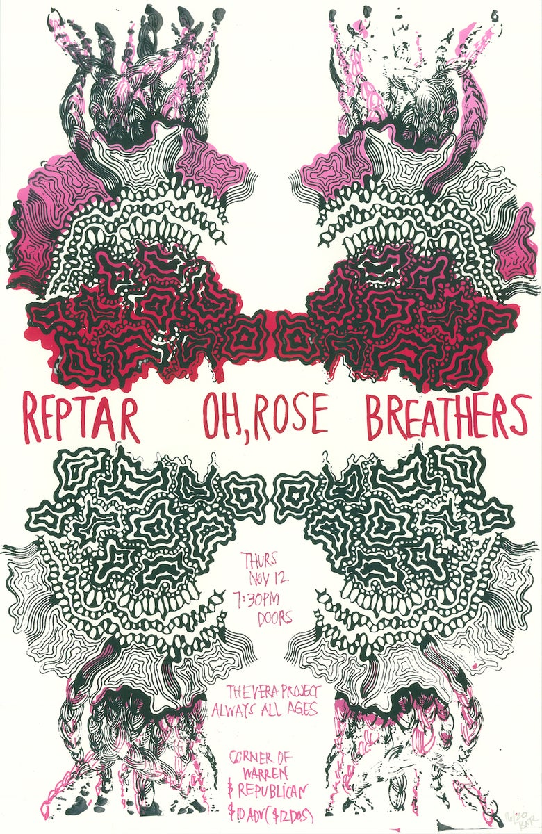 Image of Reptar Poster