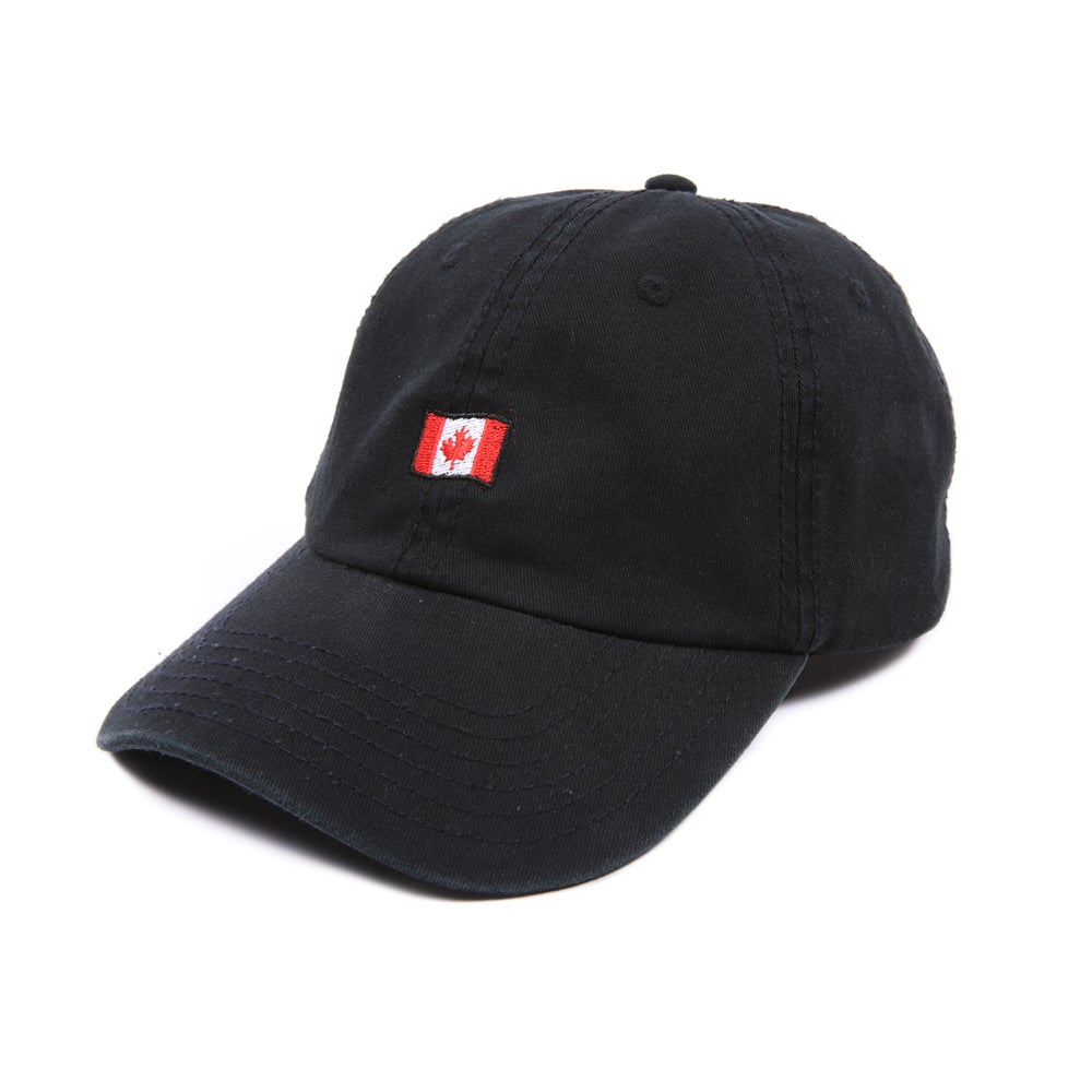 Image of  Canada Low Profile Sports Cap - Black
