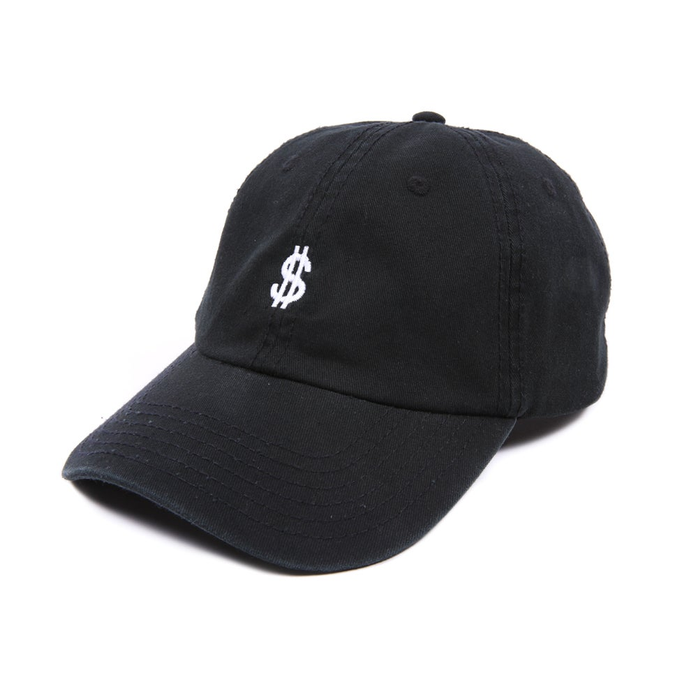 Image of  Money Low Profile Sports Cap - Black