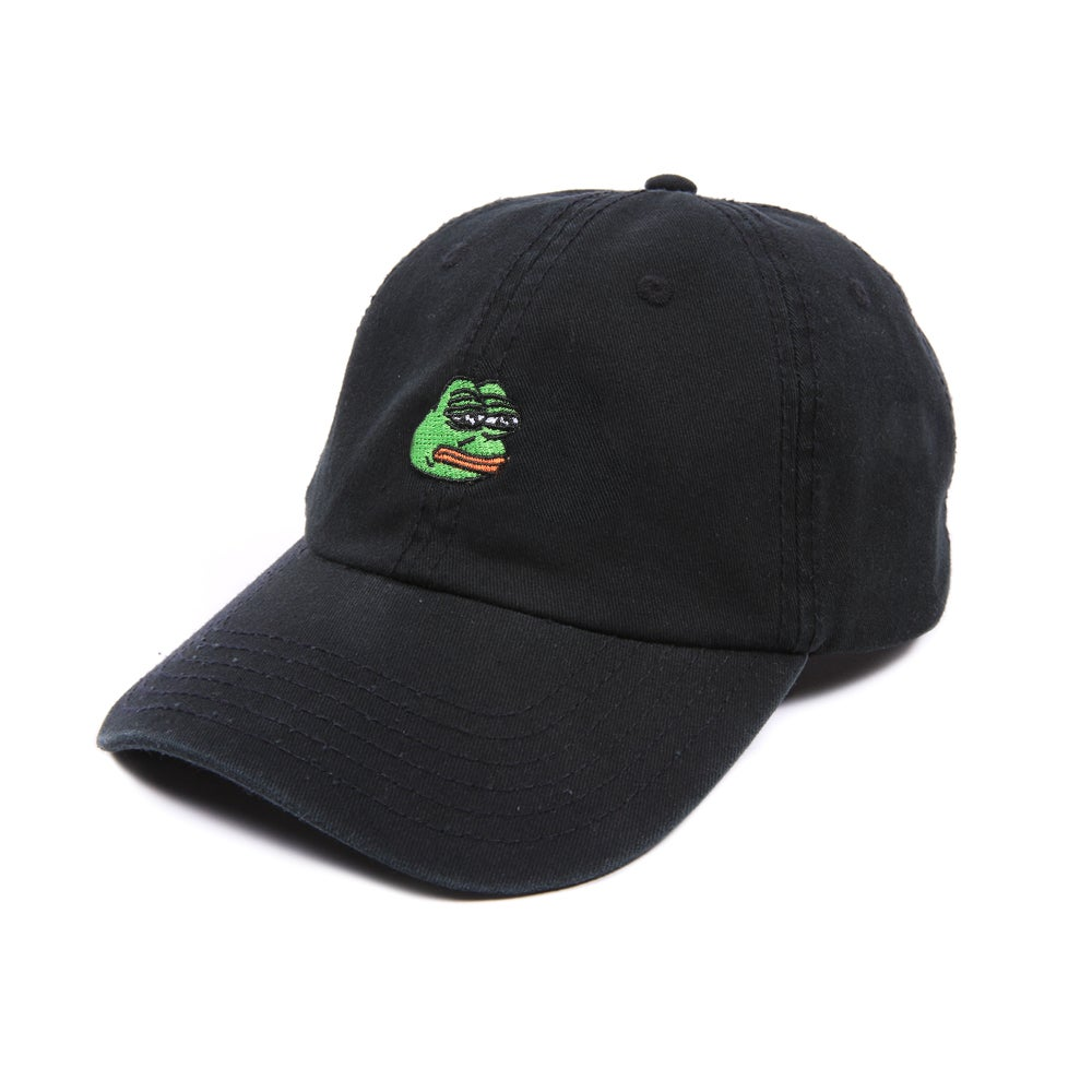 Image of Pepe Low Profile Sports Cap - Black