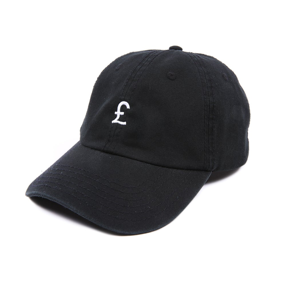 Image of Pound Low Profile Sports Cap - Black