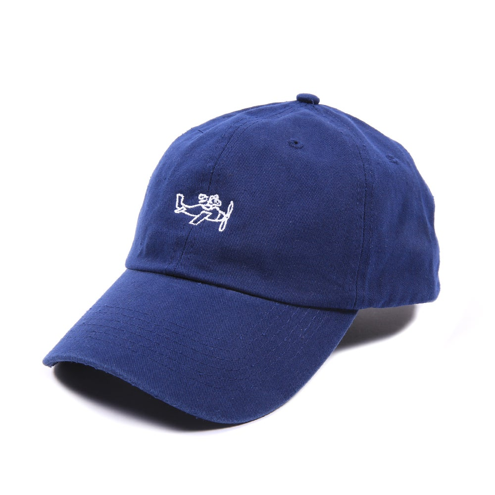 Image of  Plane Low Profile Sports Cap - Blue