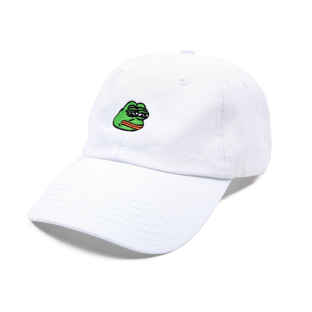 Image of Pepe Low Profile Sports Cap - White