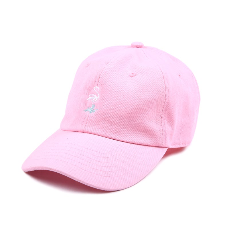 Image of Flamingo Low Profile Sports Cap - Pink