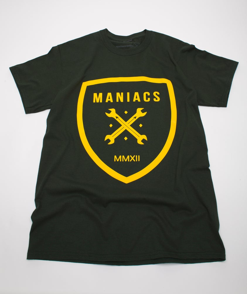 Image of AVHS Inspired Maniacs Logo Tee