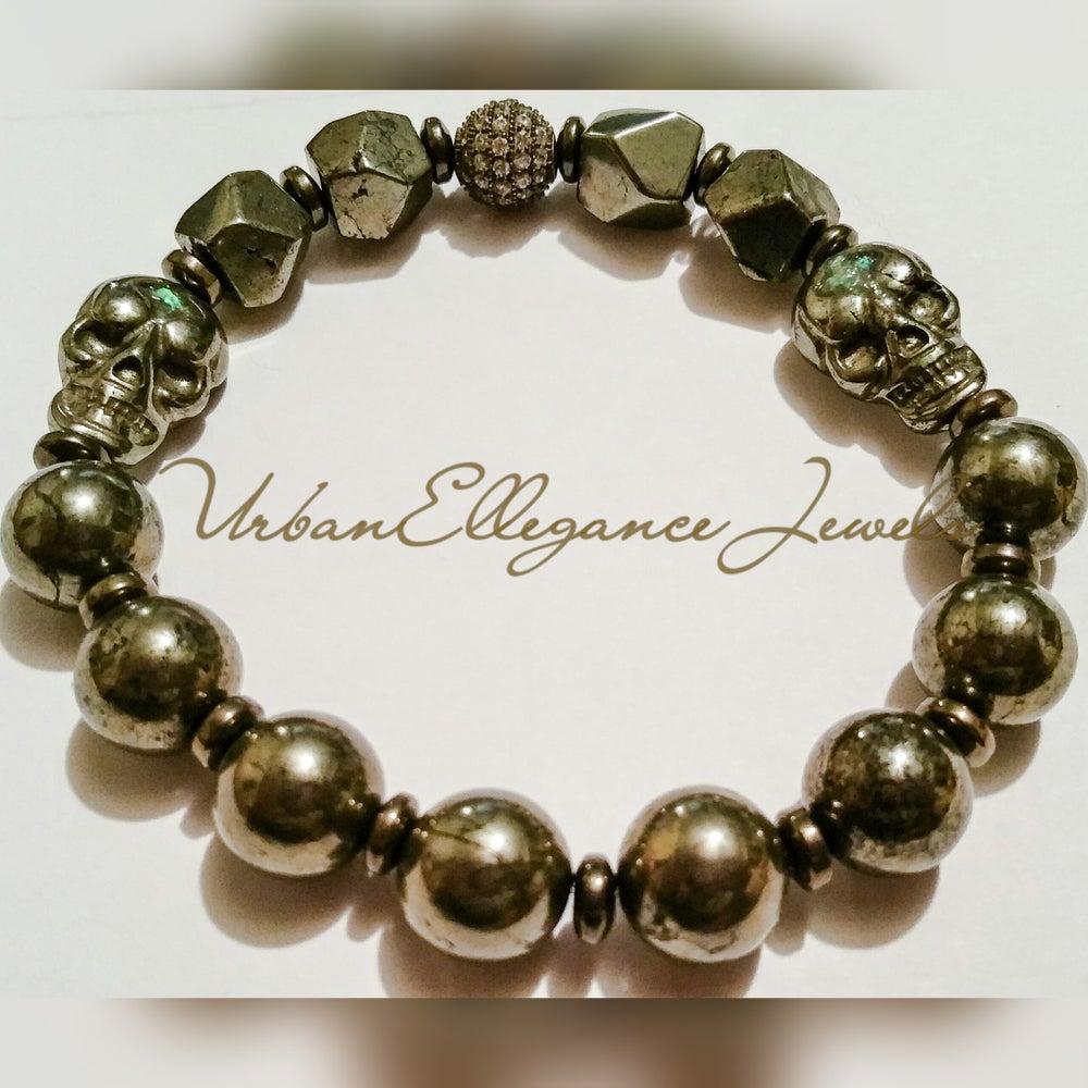Image of Urban Ellegance Pyrite Gemini bracelet