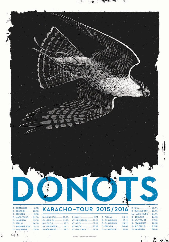 Image of »DONOTS« Gig-Poster