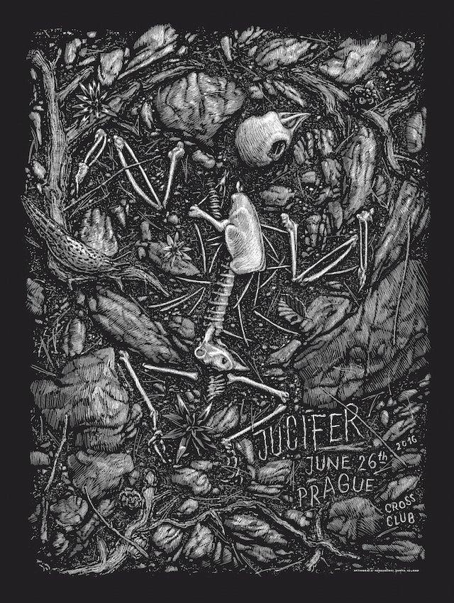 Image of »Jucifer« Gig-Poster