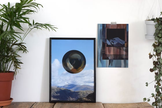Image of Landscapism 'That Dark Joy' A4 Mixed Media Print