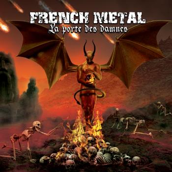 """Image of FRENCH METAL - """"La Porte Des Damnés"""", 2xCD Compilation 2016"""