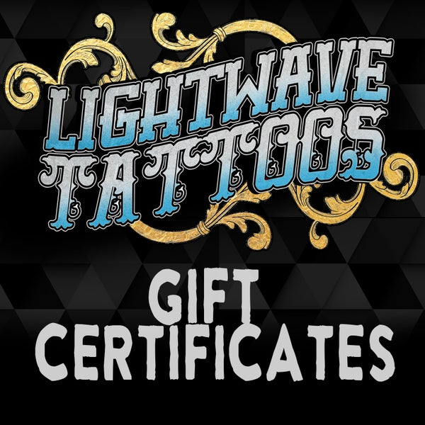 Image of Lightwave Tattoos Gift Certificate