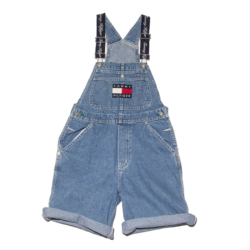 Image of Tommy Hiliger Overall Shorts - Small