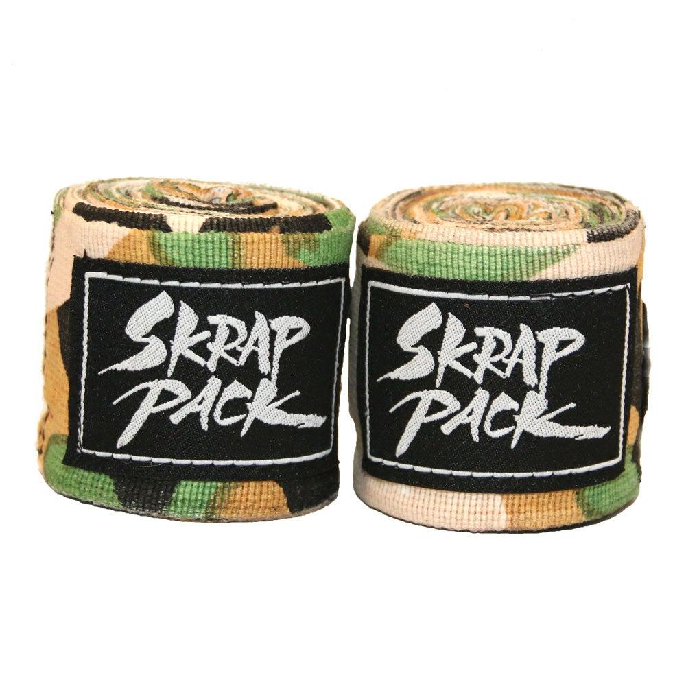 Image of Skrap Pack Hand Wraps (Camo)