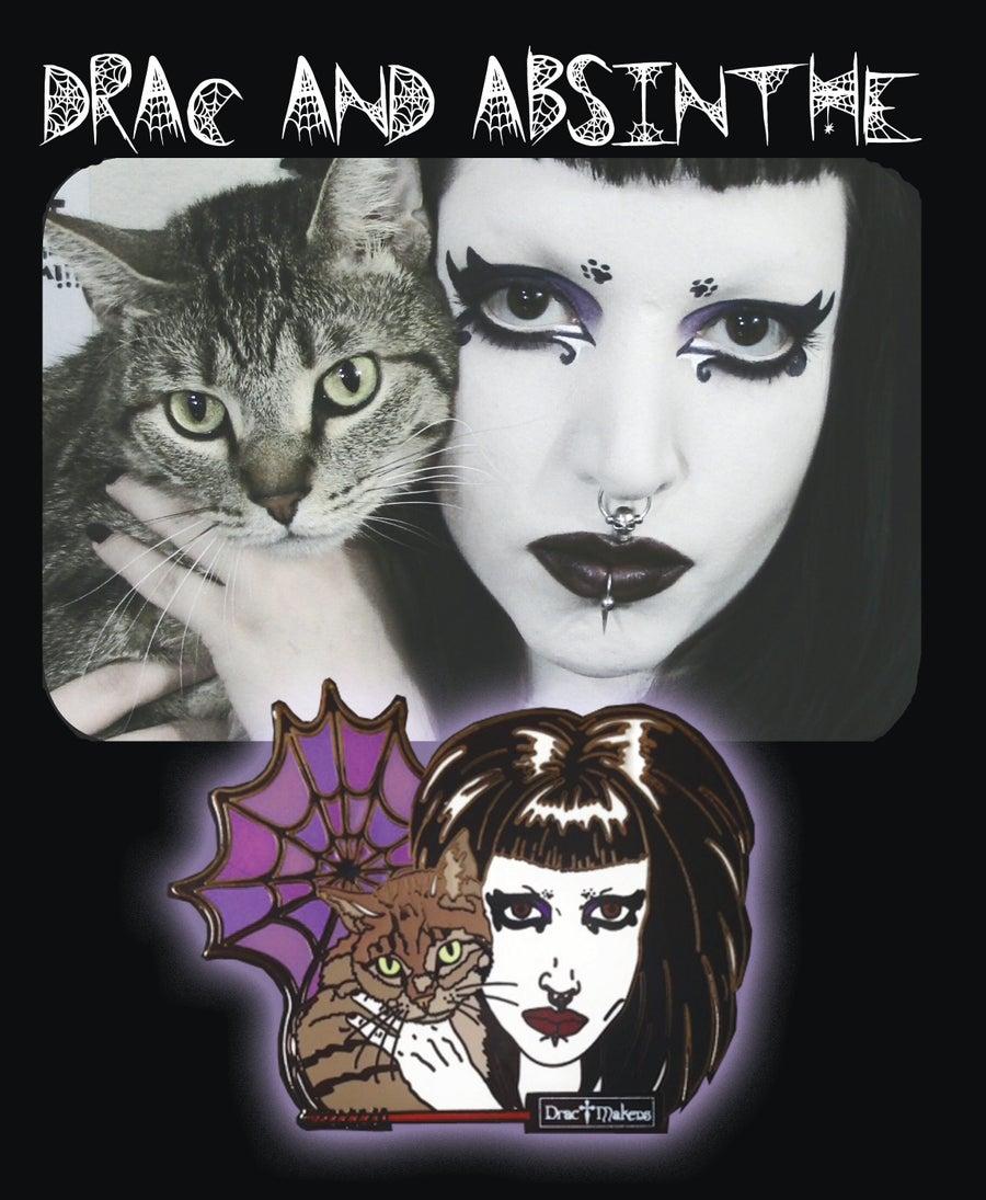 Image of DracMakens X DemonicPinfestation Drac & Absinthe