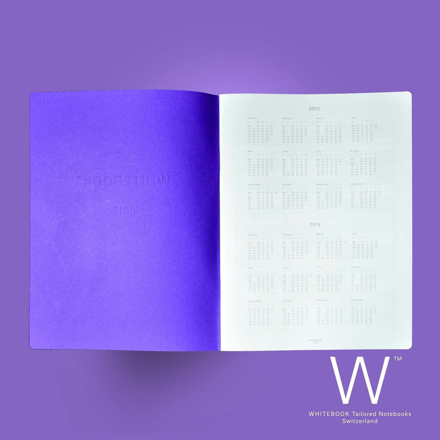Image of WHITEBOOK PLANNER «2018», C018, Monthly and weekly planner