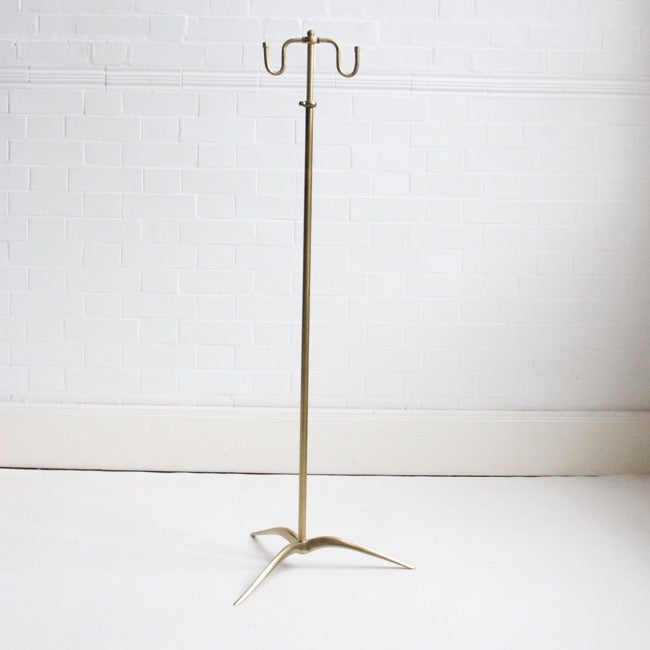Image of French Brass Valet, c 1950