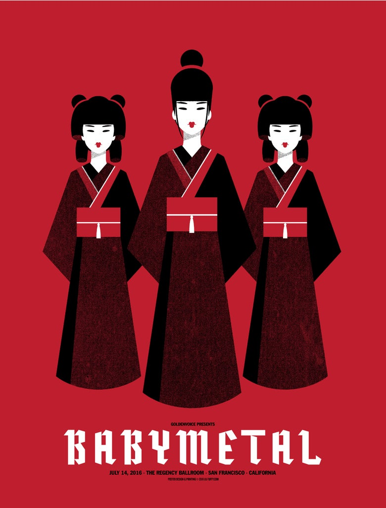 Image of Babymetal - San Francisco 2016