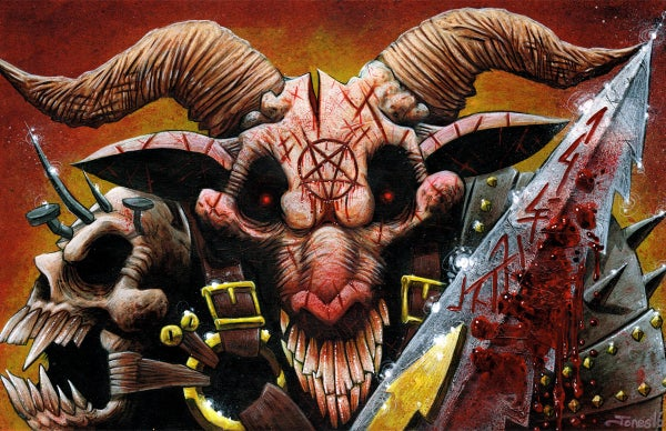Image of 'Blood Lord' Art Print