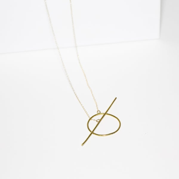 Image of Toggle Drop Necklace