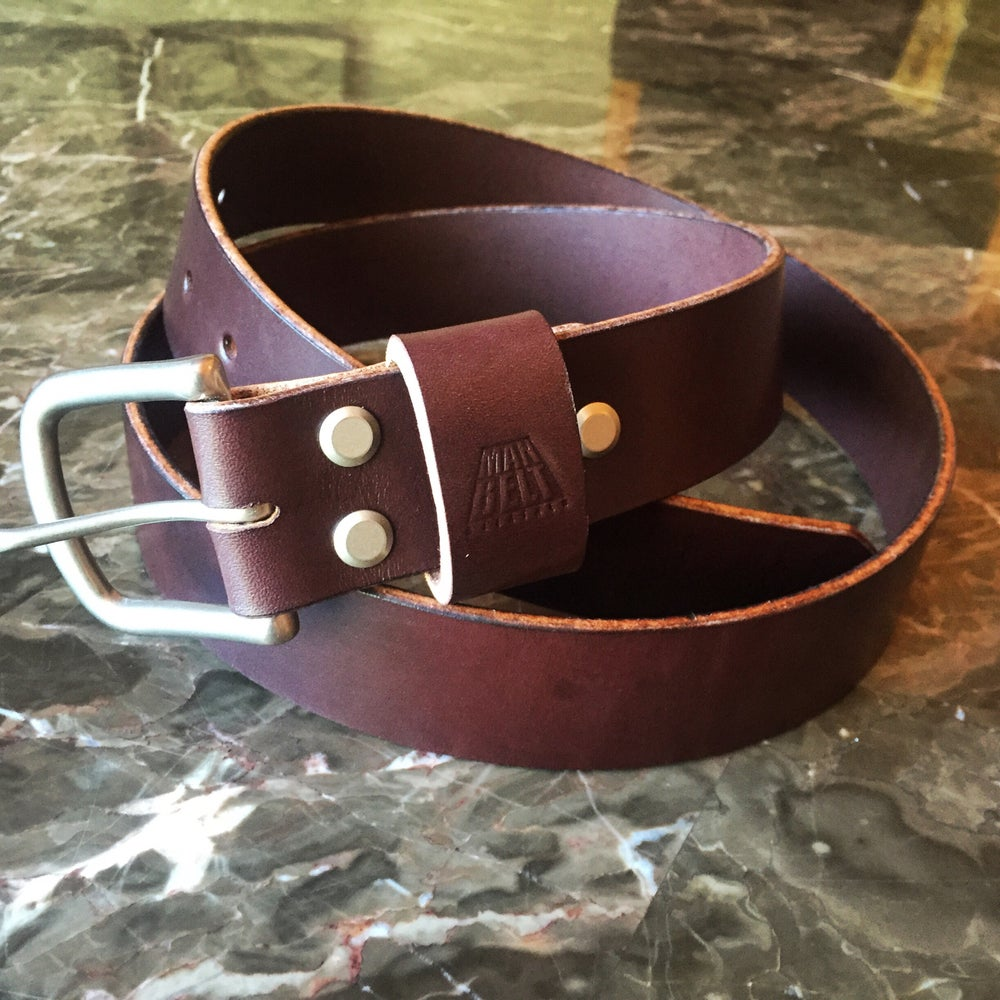 Image of Bridle Leather Man Belt