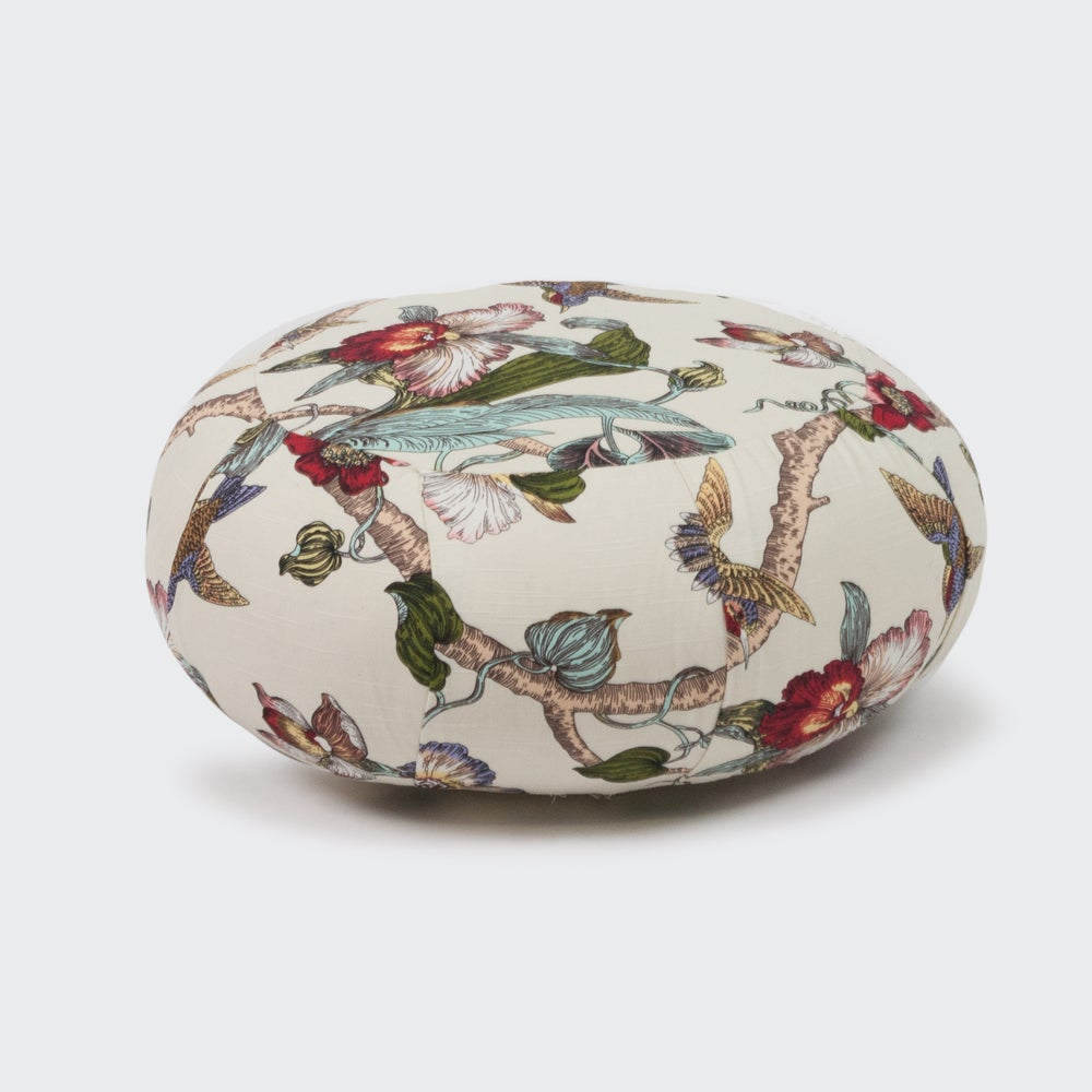 Image of Large Zafu Cushion – patterned