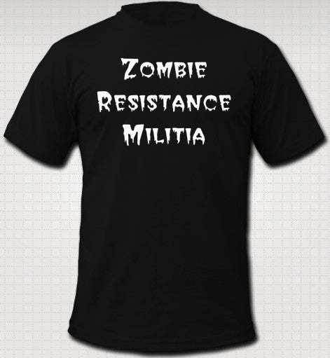 Image of ZOMBIE RESISTANCE MILITIA T-Shirt by American Apparel