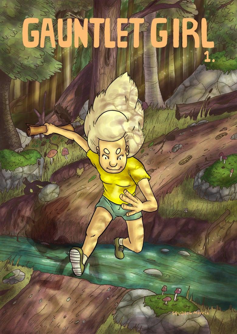Image of Gauntlet Girl Comic