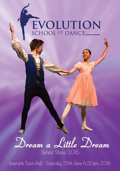 Image of Dream a Little Dream - Evolution School of Dance Senior Show 2016