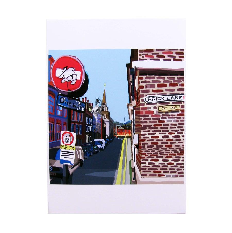 Image of <b>Brick Lane</b> <br> - <b>Tomartacus</b>
