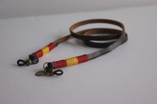 Foto de Cordón cuelga gafas cuero - classy leather España