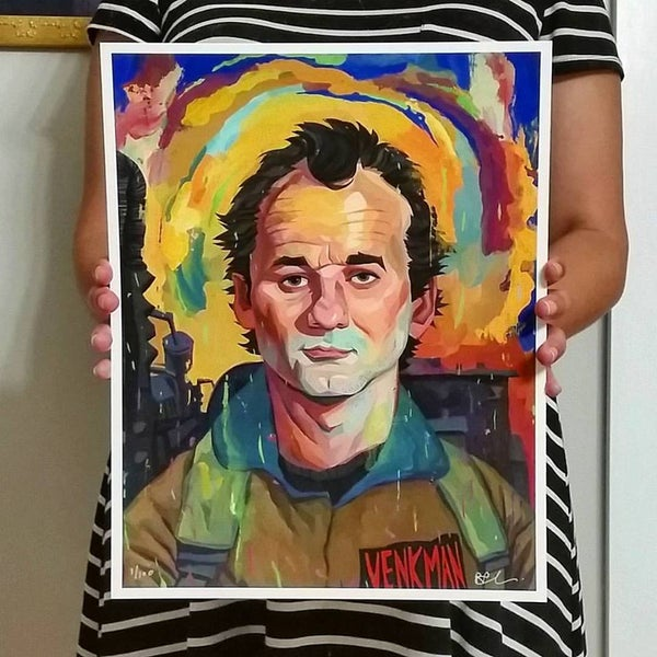 Image of Peter Venkman 11x14 Print