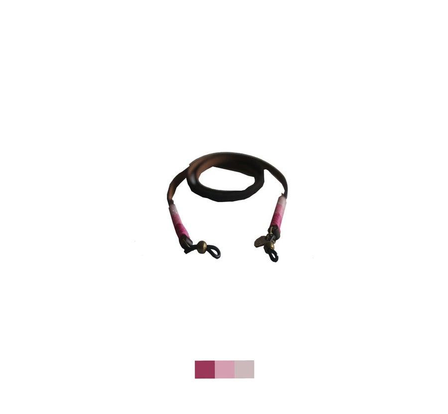 Foto de Cordón para gafas cuero -  classy leather Martina