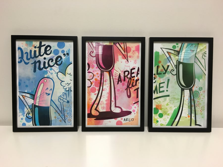 Image of Quite Nice Triptych #1