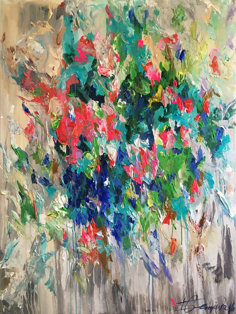 Image of Flores hiems - 120x90cm
