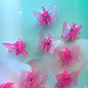 Image of 90's style Butterfly Clips